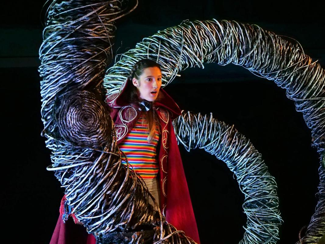 Photograph from Little Red Riding Hood - lighting design by Katy Morison