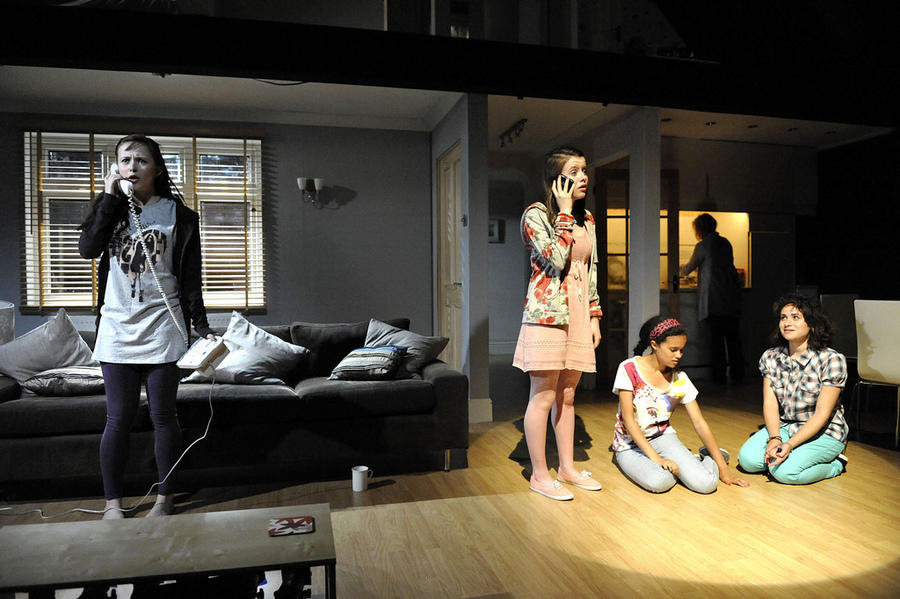 Photograph from Spur of the Moment - lighting design by Malcolm Rippeth