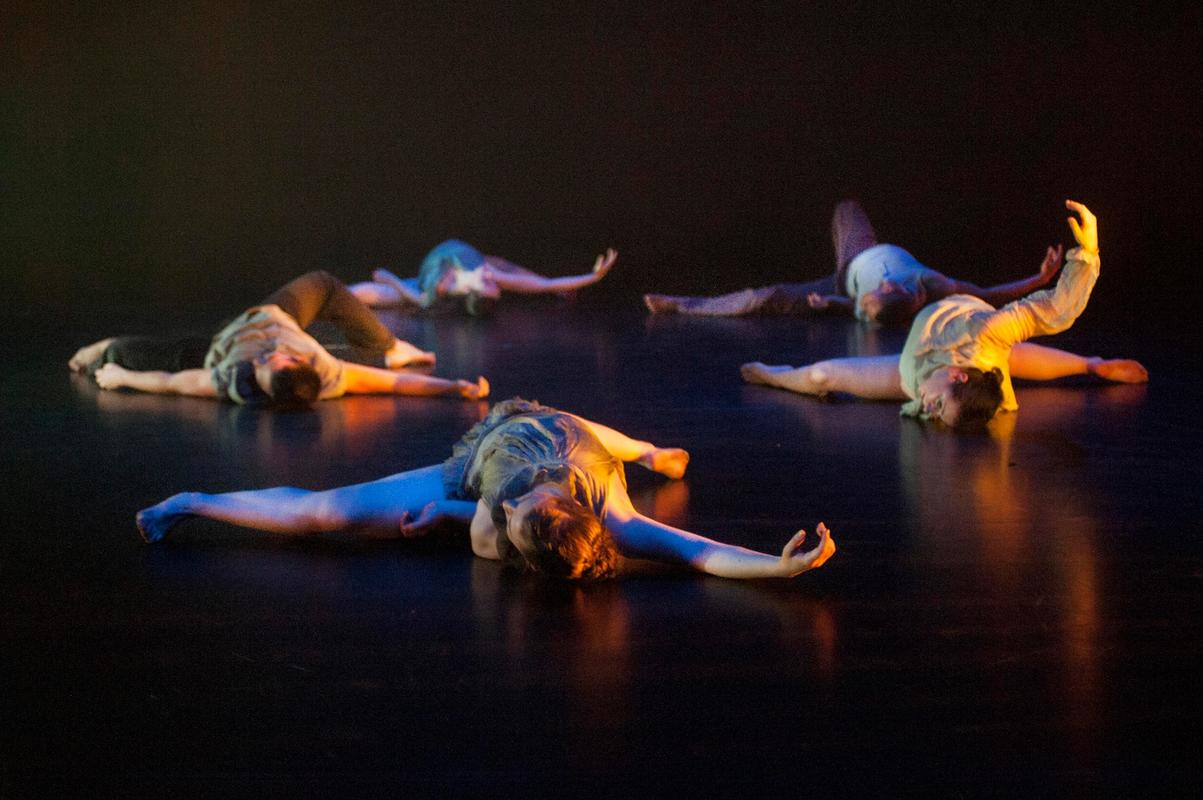 Photograph from I am - lighting design by Laura Hawkins