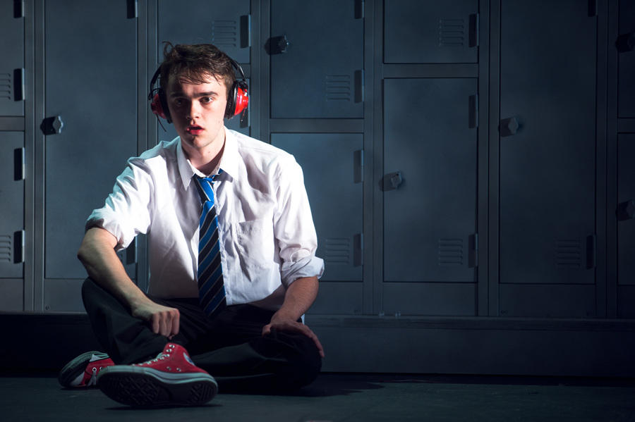 Photograph from The Static - lighting design by Simon Wilkinson