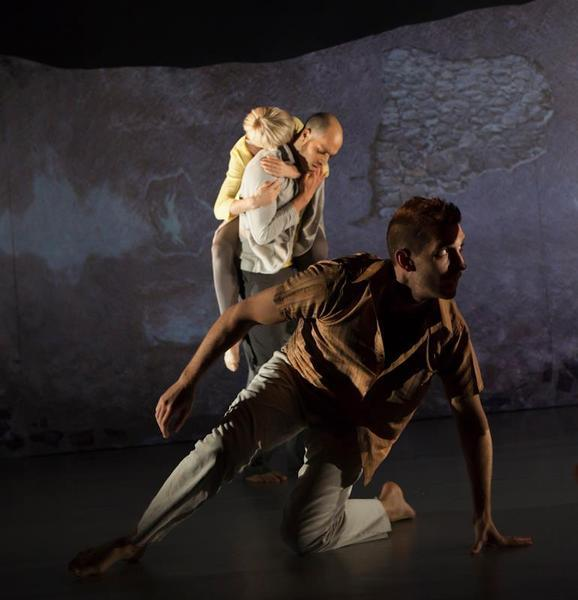 Photograph from PUSH - lighting design by Simon Wilkinson