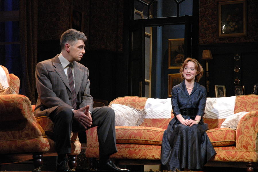 Photograph from A Sense of Justice - lighting design by Simon Wilkinson