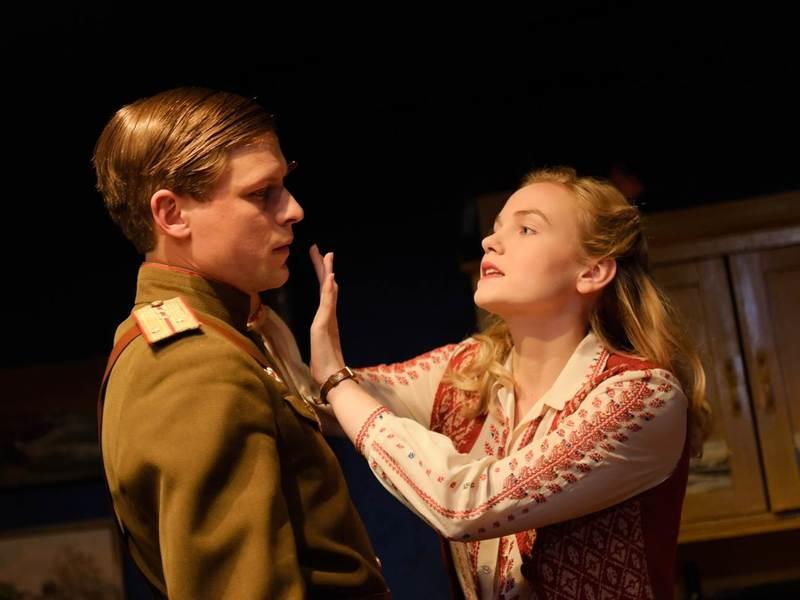 Photograph from The Promise - lighting design by Malcolm Rippeth