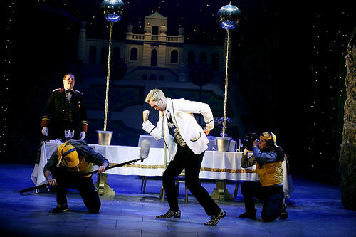 Photograph from Cinderella - lighting design by Simon Wilkinson