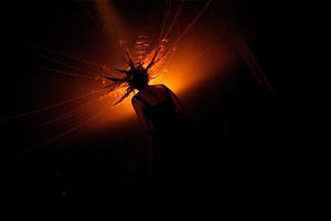 Photograph from Suspended - lighting design by Marty Langthorne