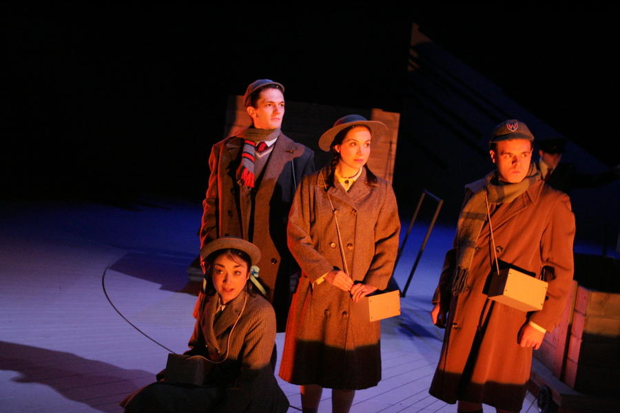 Photograph from The Lion, The Witch and The Wardrobe - lighting design by Malcolm Rippeth