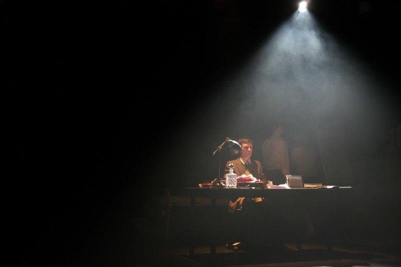 Photograph from Dreams to Her Father - lighting design by Will Evans