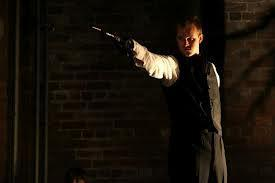 Photograph from Eugene Onegin - lighting design by Nigel Lewis