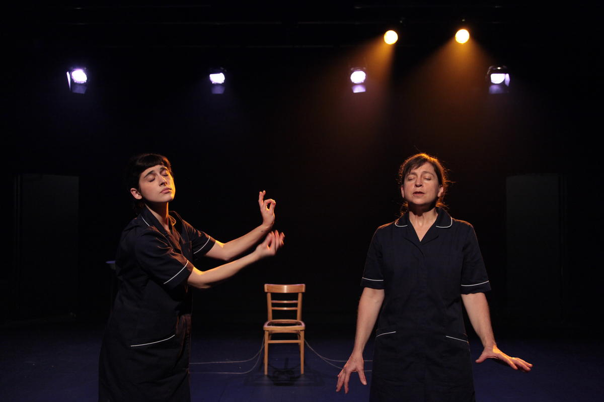 Photograph from Control Signal - lighting design by Marty Langthorne