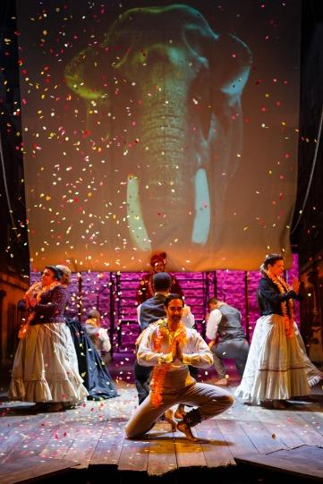 Photograph from The Empress - lighting design by Malcolm Rippeth