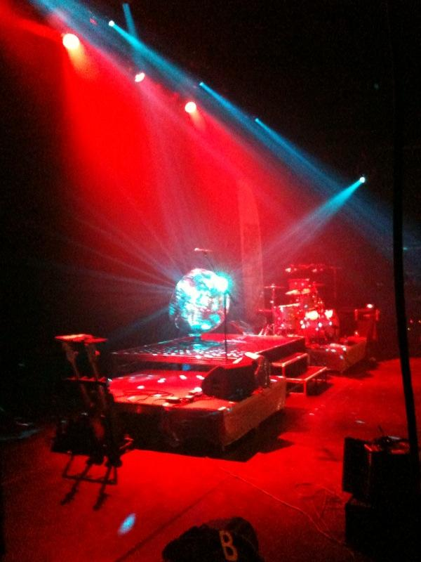 Photograph from Bjorn Again - lighting design by Jason Salvin