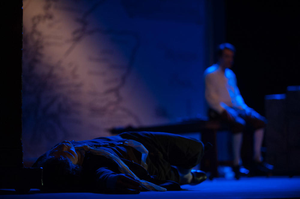 Photograph from Kidnapped - lighting design by Charlie Morgan Jones
