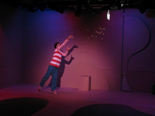 Photograph from How to catch a star - lighting design by Chris Barham