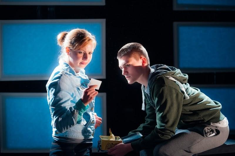 Photograph from Chalk Farm - lighting design by Simon Wilkinson