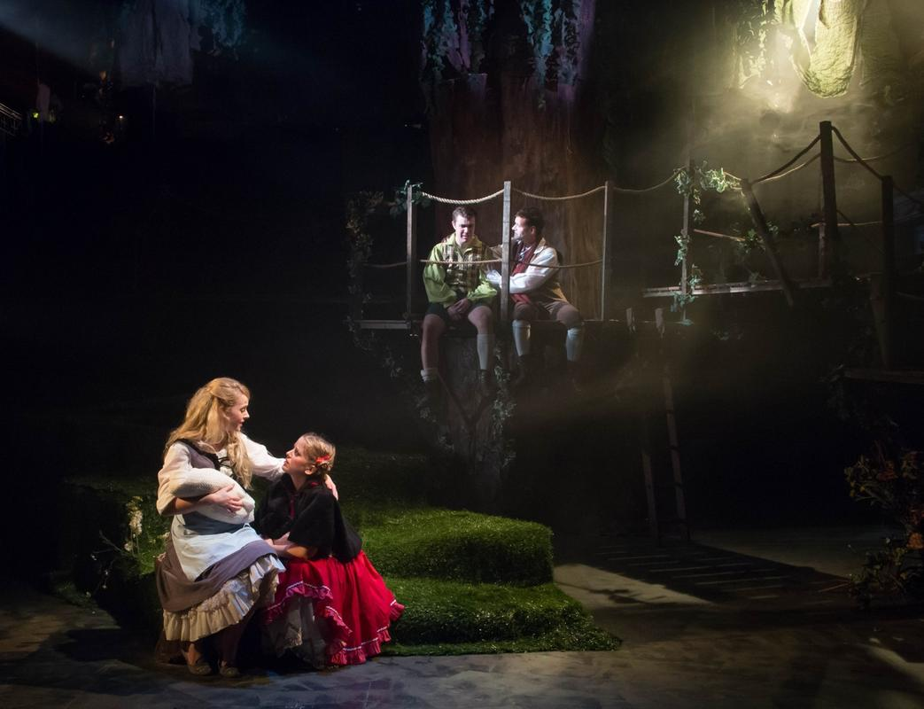 Photograph from Into The Woods - lighting design by Ben Pickersgill