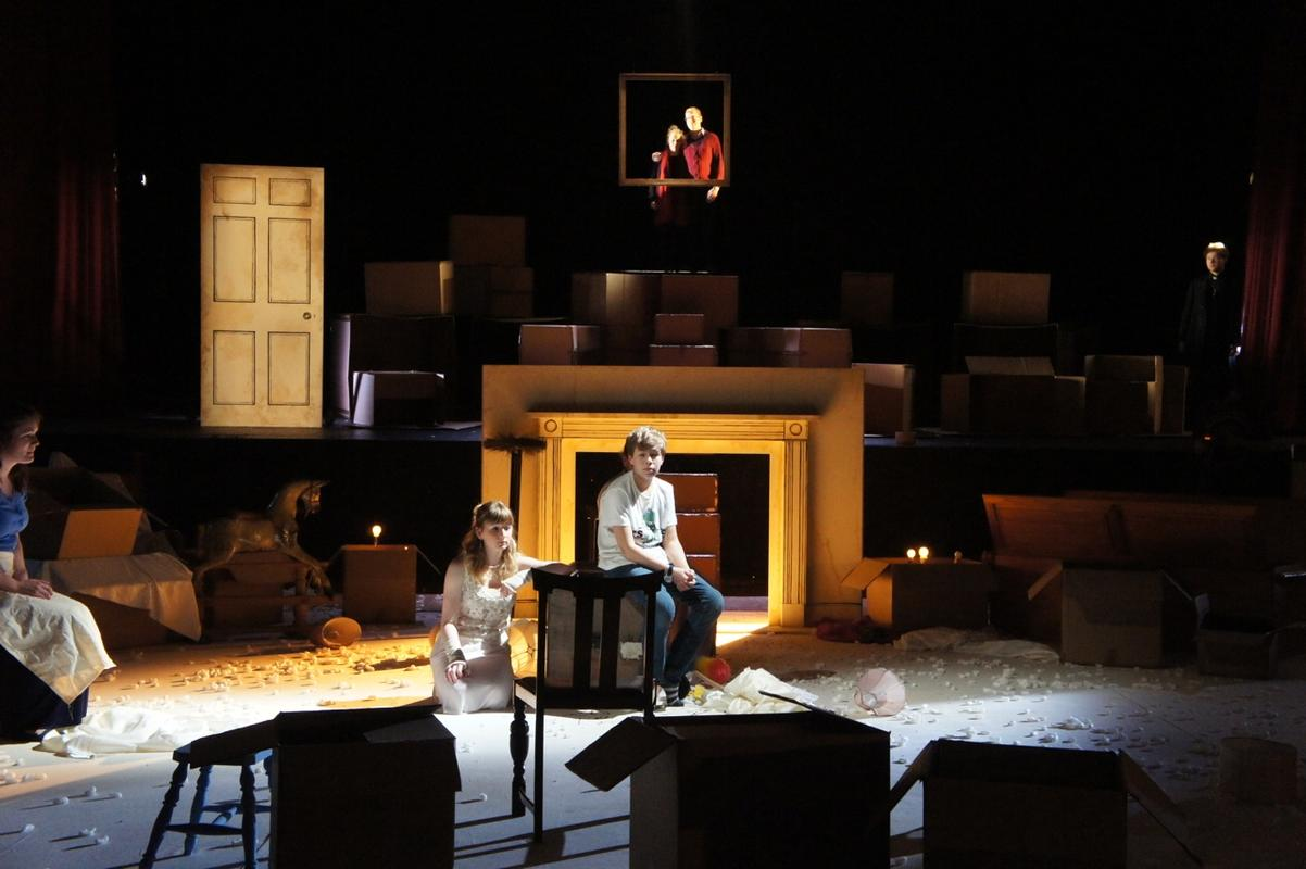 Photograph from The Little Sweep - lighting design by Ben Pickersgill