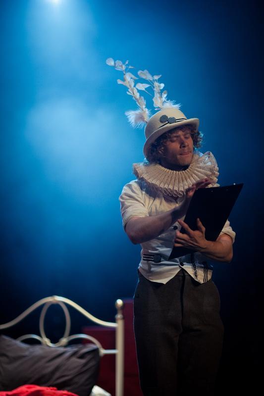 Photograph from Alice in Wonderland - lighting design by Charlie Morgan Jones