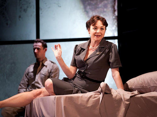 Photograph from Moon Tiger - lighting design by Malcolm Rippeth