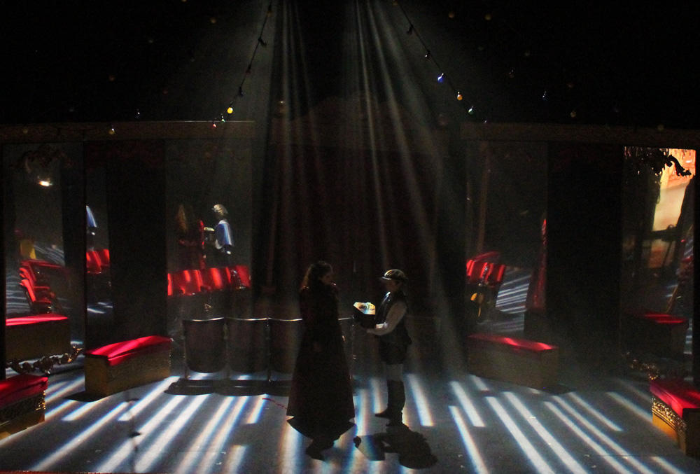 Photograph from Faust - lighting design by David Totaro