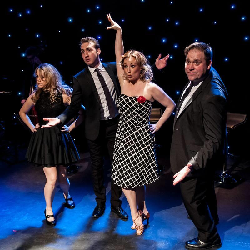 Photograph from The Great Jewish American Songbook - lighting design by Martin McLachlan