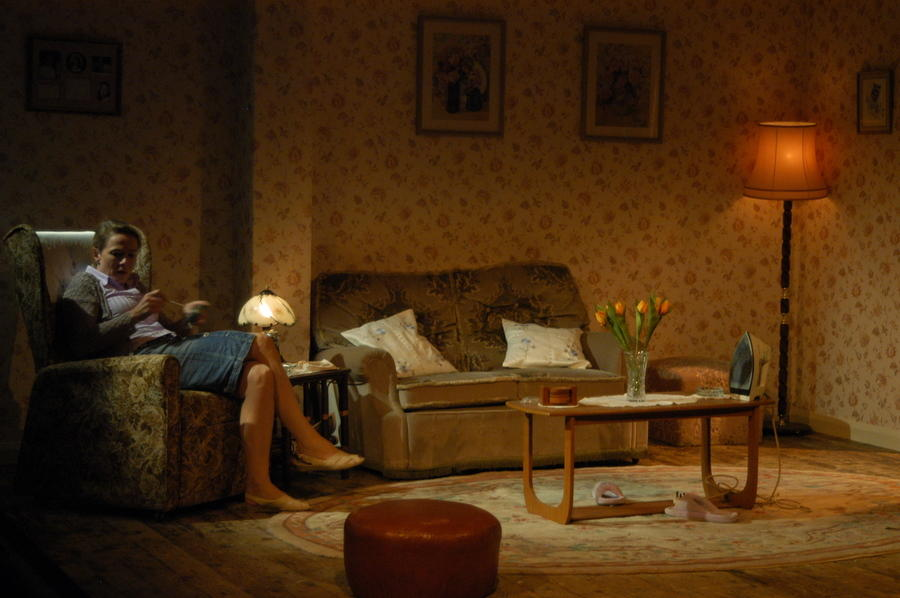 Photograph from Summer Begins - lighting design by Richard Williamson