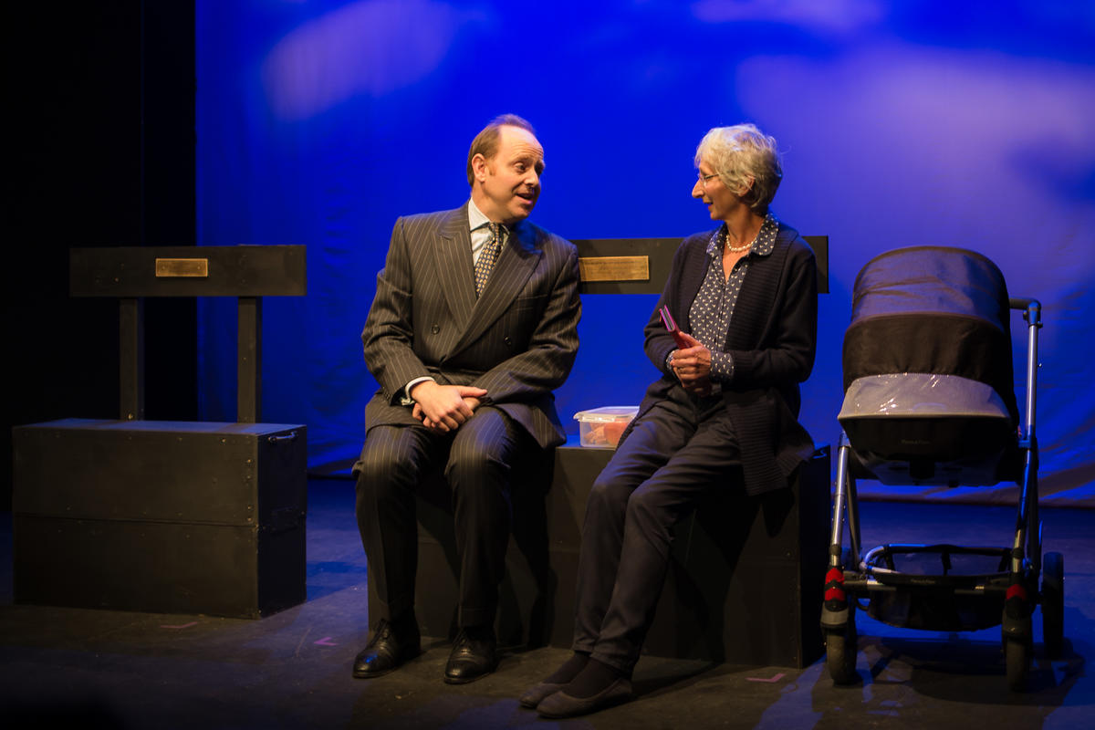 Photograph from 10 x 10 National Play Writing Competition and Festival - lighting design by Peter Vincent