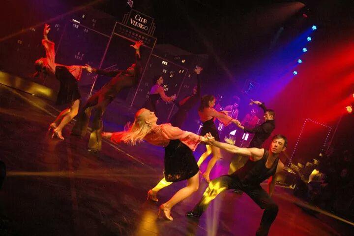 Photograph from Club Vertigo - lighting design by Nigel Lewis