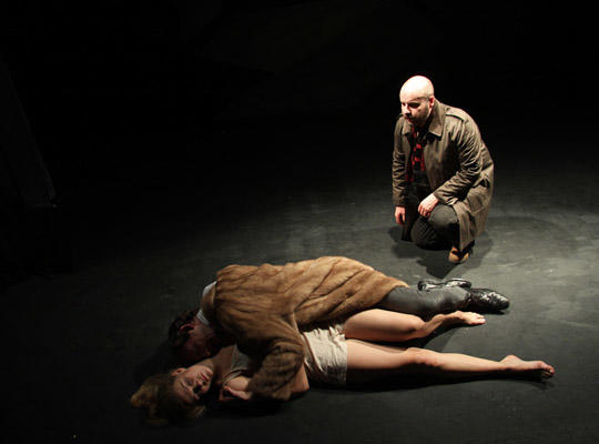 Photograph from The Duchess of Malfi - lighting design by Edmund Sutton