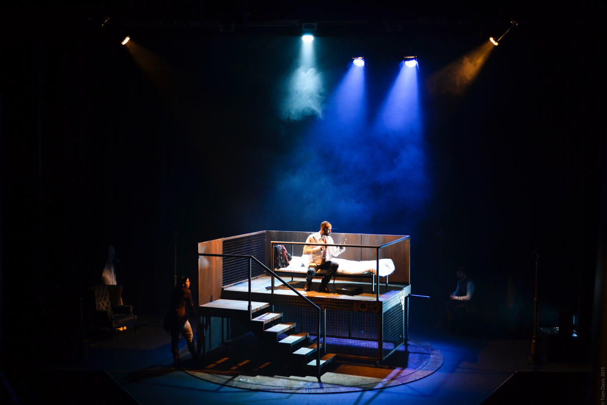 Photograph from Jekyll and Hyde - lighting design by Charlie Morgan Jones