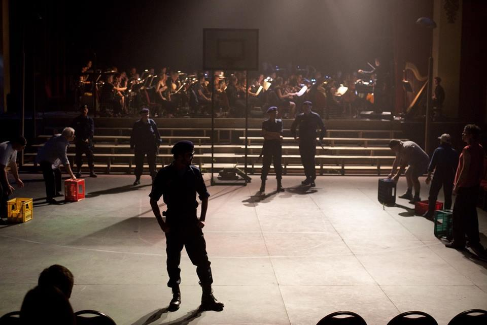 Photograph from Carmen - lighting design by Ben Pickersgill