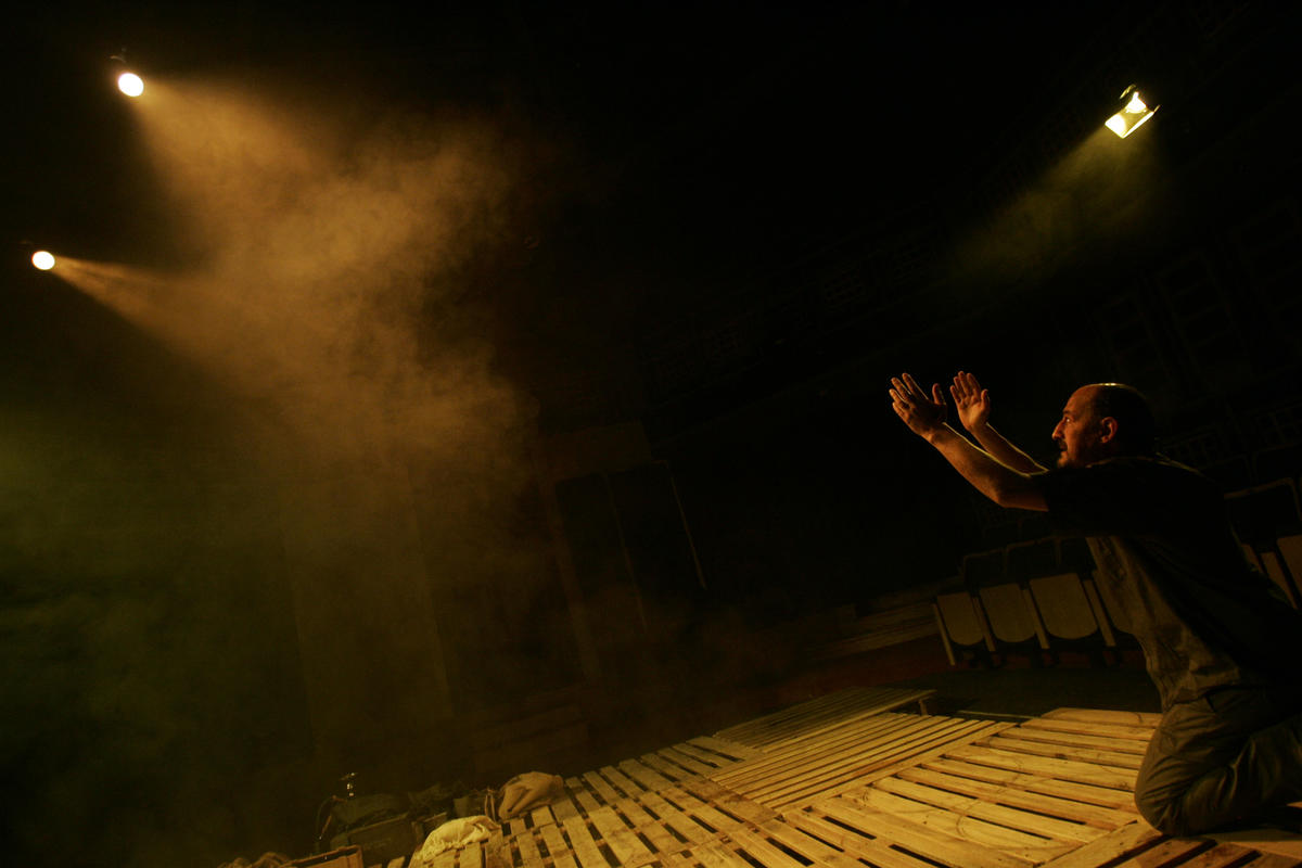Photograph from Paul - lighting design by Chris Gatt
