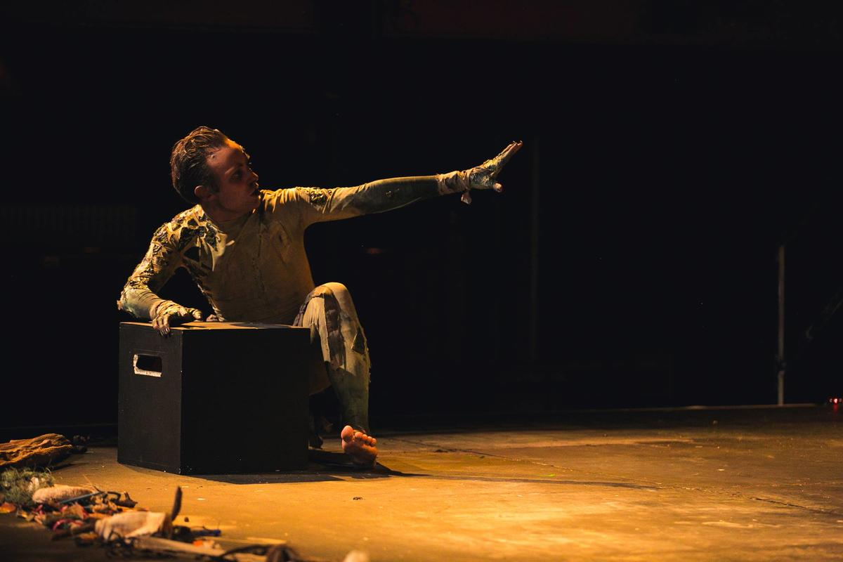 Photograph from Classic Texts - The Tempest - lighting design by Sophie Bailey