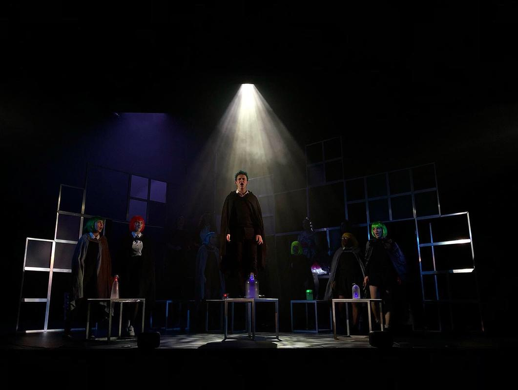 Photograph from PROM! the Musical - lighting design by Joseph Ed Thomas