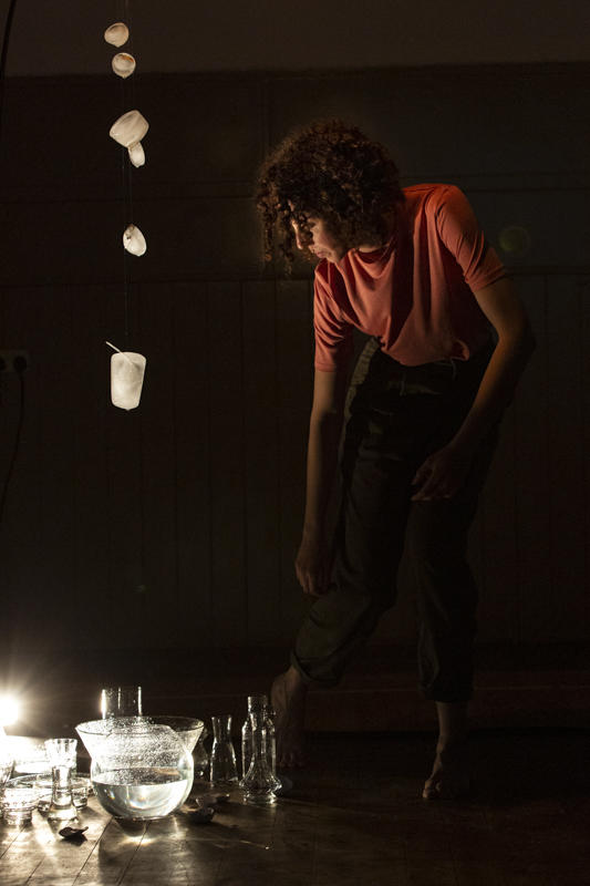 Photograph from Bodies of Water - lighting design by Louise Gregory