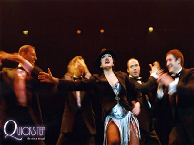 Photograph from QuickStep - The Dance Musical - lighting design by David Totaro