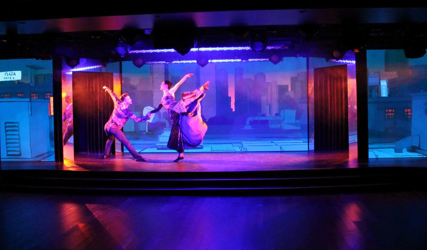 Photograph from 21st Century Songbook - lighting design by David Totaro