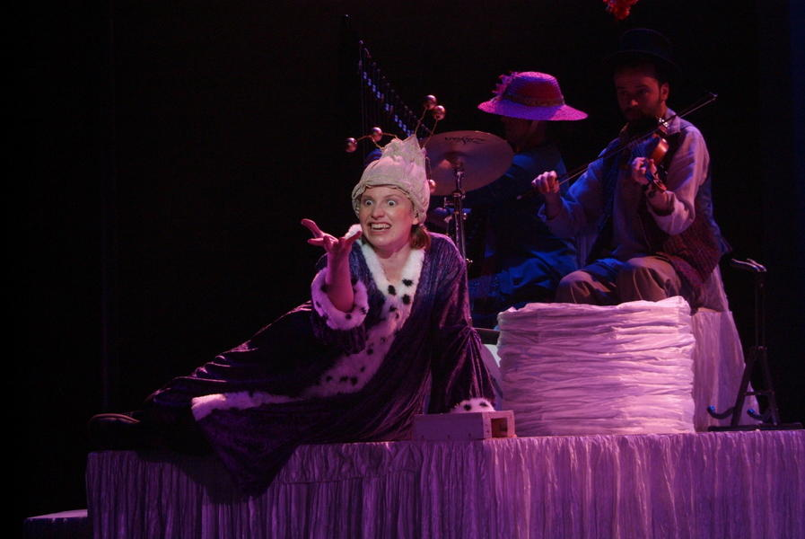 Photograph from Molly Whuppie - lighting design by Simon Wilkinson