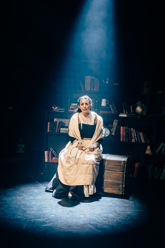 Photograph from Little Women - lighting design by JacobGowler
