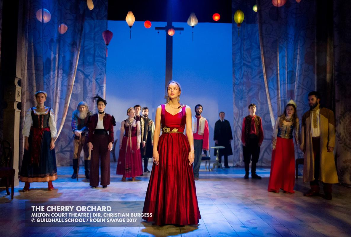 Photograph from The Cherry Orchard - lighting design by Jack Wills