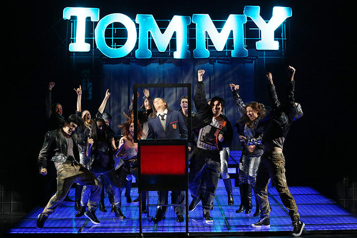 Photograph from Tommy - lighting design by Michael Grundner
