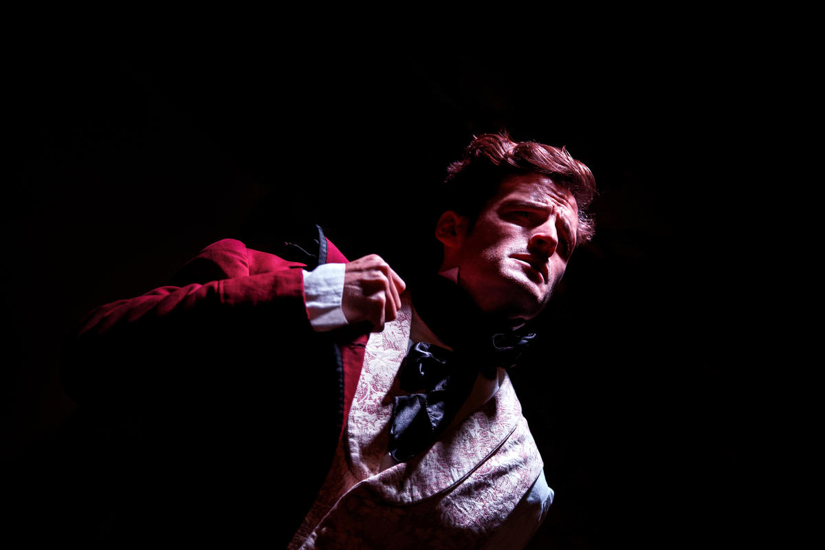 Photograph from Onegin and Tatiana - lighting design by Edmund Sutton