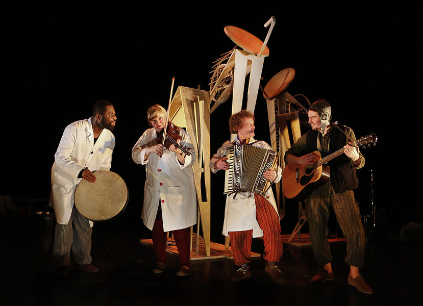 Photograph from The Tiger's Bones and Other Stories - lighting design by Azusa Ono