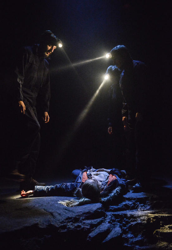 Photograph from DARKNESS, DARKNESS - lighting design by Azusa Ono