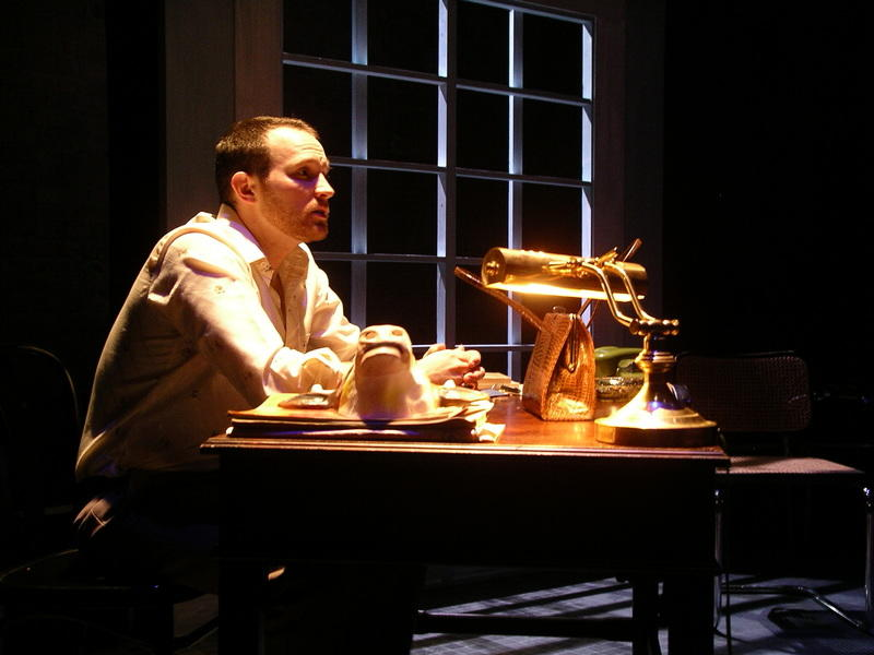 Photograph from Serenading Louie - lighting design by Will Evans