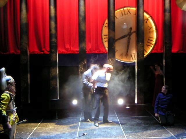 Photograph from Twelfth Night - lighting design by Richard Jones
