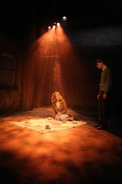 Photograph from Touched - lighting design by Charlie Lucas