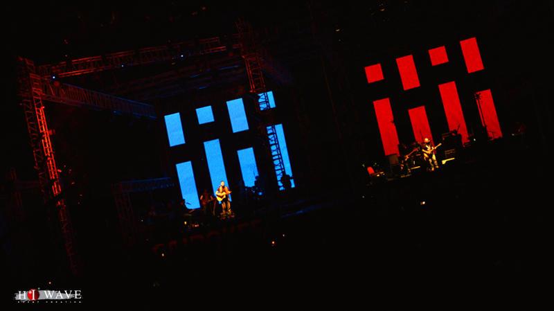 Photograph from Back to Back Music Festival - lighting design by Mohamed Ghanem