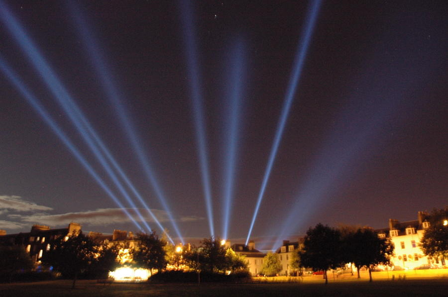 Photograph from Light Fantastic - lighting design by Simon Wilkinson