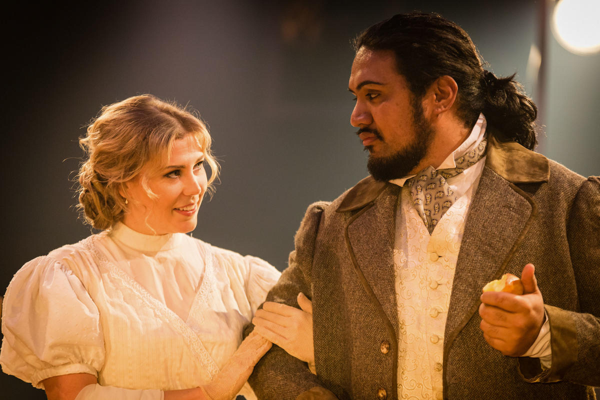 Photograph from Spring Opera Scenes - lighting design by Jack Wills