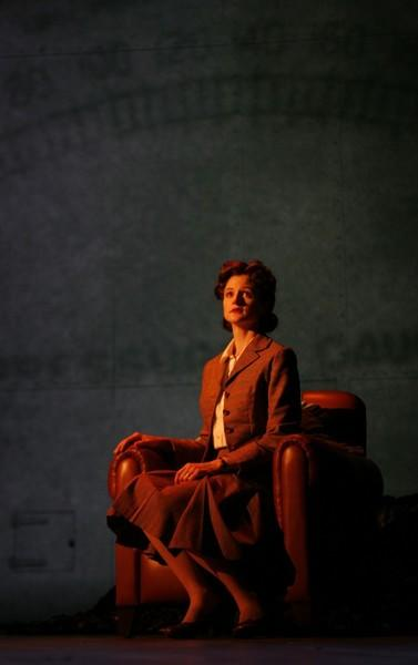 Photograph from Brief Encounter - lighting design by Malcolm Rippeth